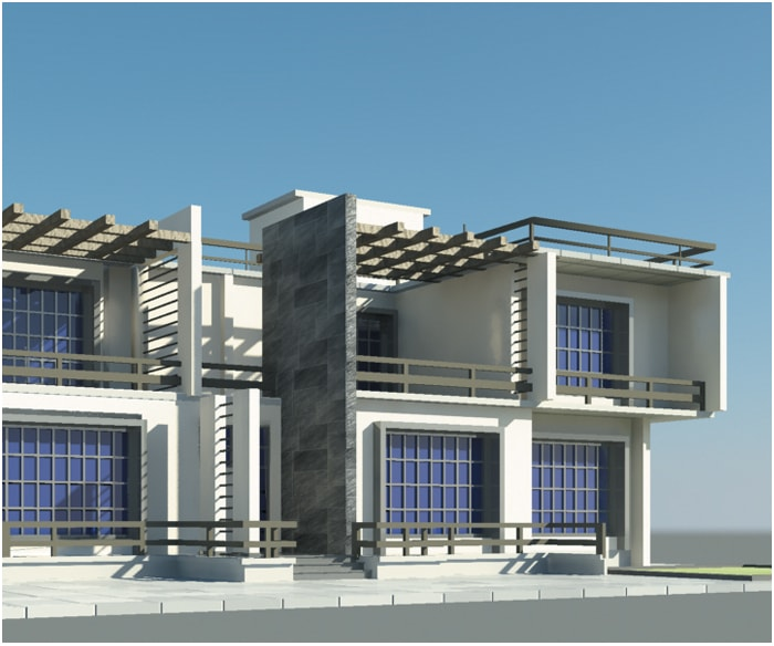 3d architecture modeling rendering services cad outsourcing