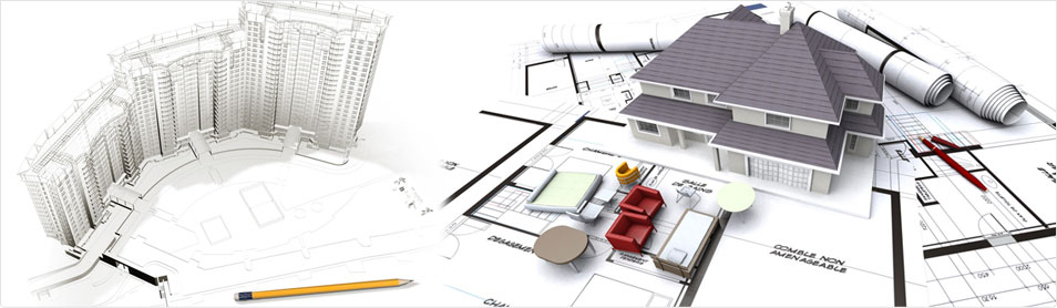 2D Architecture Drafting, Architectural Planning Drawings, 3D Rendering