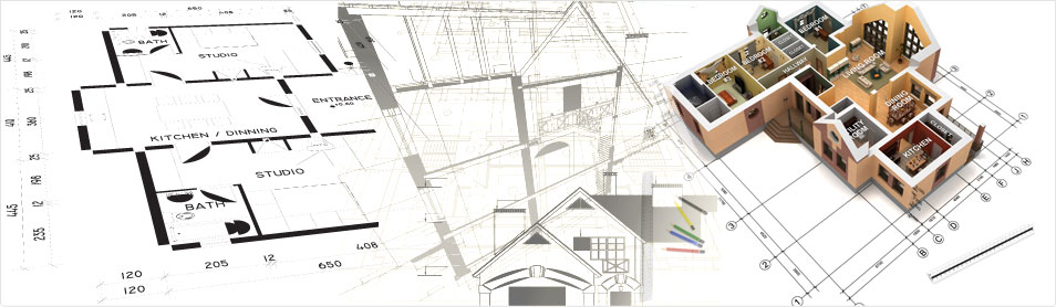 Cad outsourcing 2d 3d designing drafting building for Architectural design services